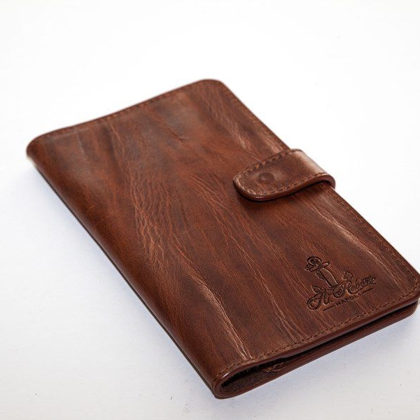 Мужской кошелек A.Roberto Napoli Exclusive Bark Brown Wallet