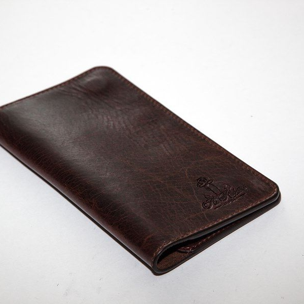 Мужской кошелек A.Roberto Napoli Exclusive Dark-Brown Magnet Wallet