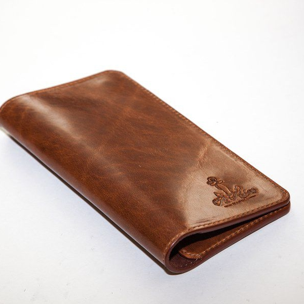 Мужской кошелек A.Roberto Napoli Exclusive Brown Magnet Wallet