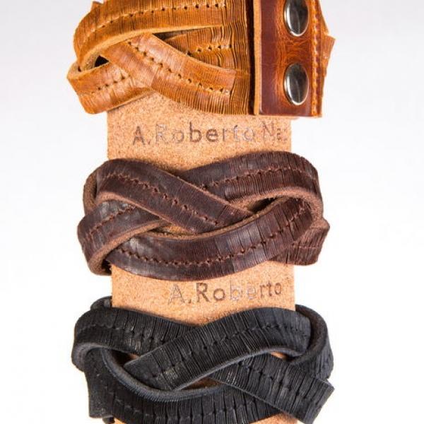Кожаный браслет bp102