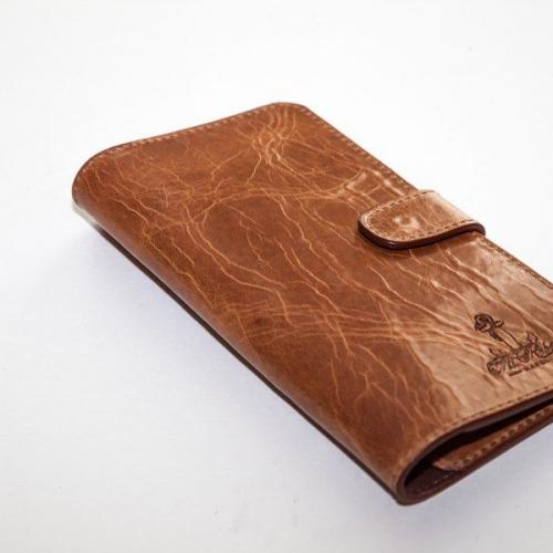 Мужской кошелек A.Roberto Napoli Exclusive Brown Roots Wallet