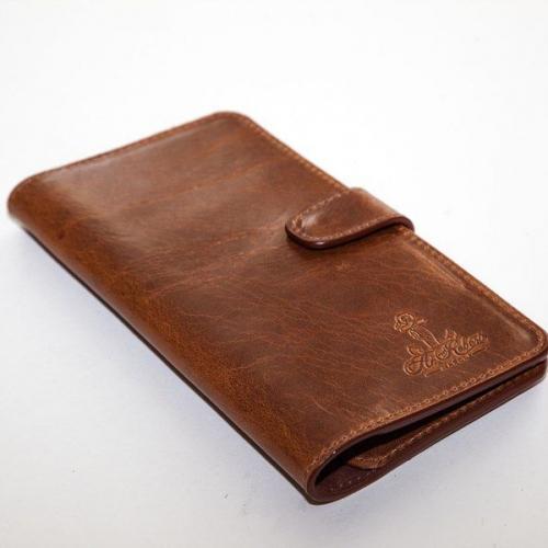 Мужской кошелек A.Roberto Napoli Exclusive Brown Wallet