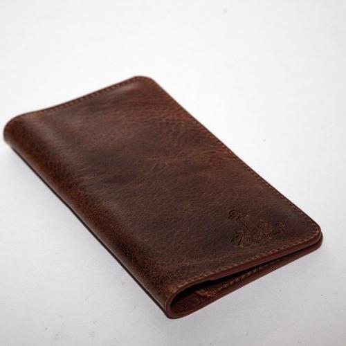 Мужской кошелек A.Roberto Napoli Exclusive Medium Brown Magnet Wallet