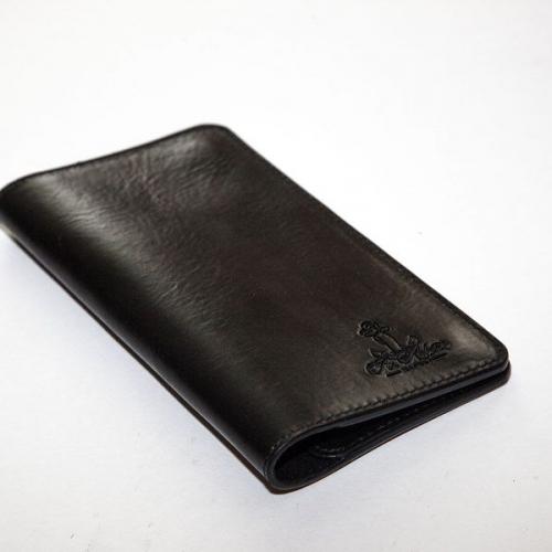 Мужской кошелек A.Roberto Napoli Exclusive Black Magnet Wallet