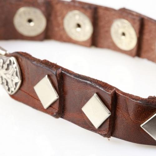 Кожаный браслет bp409