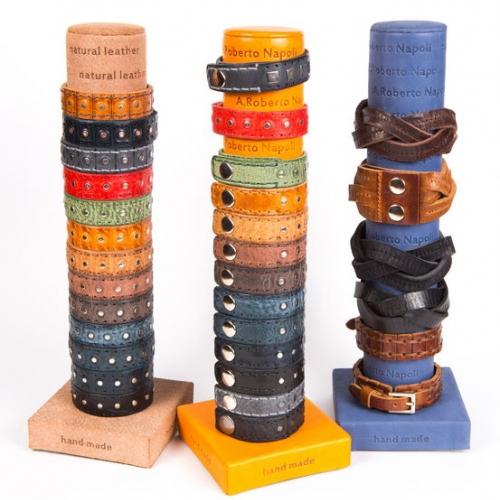 Кожаный браслет bp101