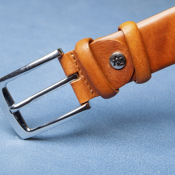 Мужской брючный ремень A.Roberto Napoli U35/1118